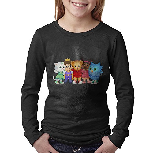 Daniel Tiger's Kids Crewneck Youth Long Sleeve T-shirt (Mister Rogers Coffee Mug compare prices)