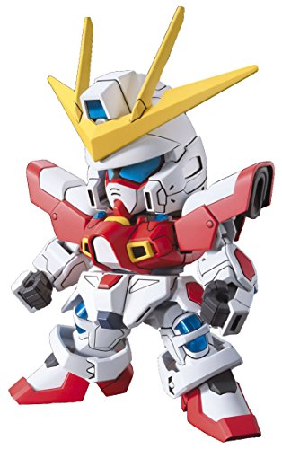 Bandai Hobby BB#396 SD Build Burning Gundam Model Kit - 1