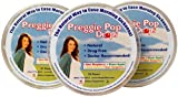 Preggie Pop Drops, 21 Assorted Sour Fruit Lozenges (3-Pack)