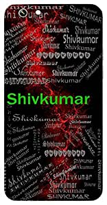 Shivkumar (Son Of Lord Shiva (Ganesh, Kartikeya) ( Shivanandan )) Name & Sign Printed All over customize & Personalized!! Protective back cover for your Smart Phone : Samsung Galaxy Note-5
