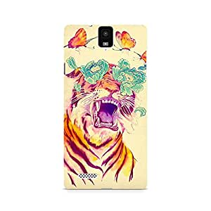 Mobicture Tiger Premium Designer Mobile Back Case Cover For InFocus M330