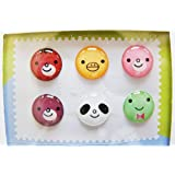 """Leegoal(TM) """"Home"""" Button Sticker for iphone/ipad/itouch, Smile, 6 Stickers"""
