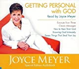 Getting Personal with God (Set of 3 Audio CDs read by Joyce Meyer)