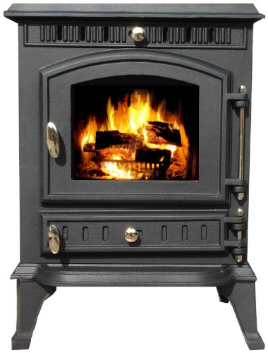 Vortigern 7kW CAST IRON WOODBURNING MULTIFUEL STOVE V10 - genuine CE certificate issued in the UK.