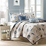 Bayside 6 Piece Coverlet Set Size: Full/Queen