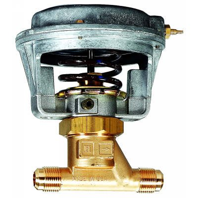 7/8 In. Od 3/4 In. Nominal, Pneumatic Water Valve, 2.5 Cv