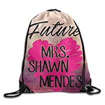 Gym Sackpack Future MRS. Shawn Mendes Nylon Home Travel Sport Storage