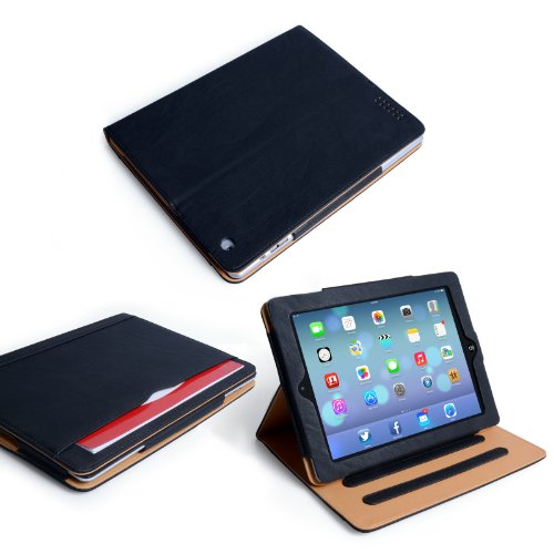 Yousave Accessories iPad Air 2 Case Sleep Wake Function (2014 Model) PU Leather Magnetic Closing Stand Cover
