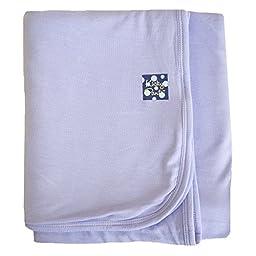 Kickee Pants Basic & Print Blanket-Baby Girls & Boys Stroller Blankets (One Size, Lilac)
