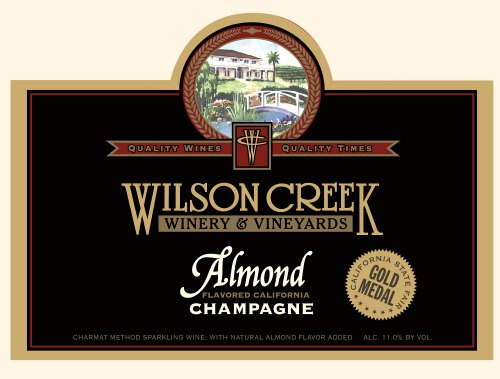 Wilson Creek NV  Almond Champagne Sparkling 750mL