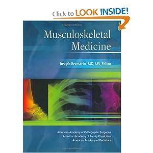 Musculoskeletal Medicine PDF by Joseph Bernstein