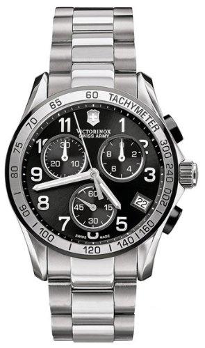Victorinox Swiss Army Men's 251403 Chrono Classic Chronograph Black Dial Watch