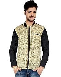 Appollo Men's Super Fine Cotton Casual Shirt-L