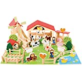 Bigjigs Wooden Play Farm