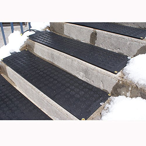 HOTflake Outdoor Heated Stair Mat Set