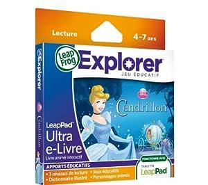 Leapfrog - 89029 - Jeu Éducatif et Scientifique - LeapPad 2 / LeapPad 3 / LeapPad Explorer / Leapster Explorer - Ultra E-Livre - Cendrillon