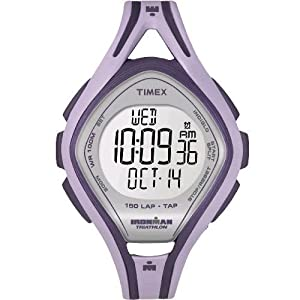 Timex Damen-Armbanduhr Ironman Sleek 150 LAP Digital Quarz T5K259