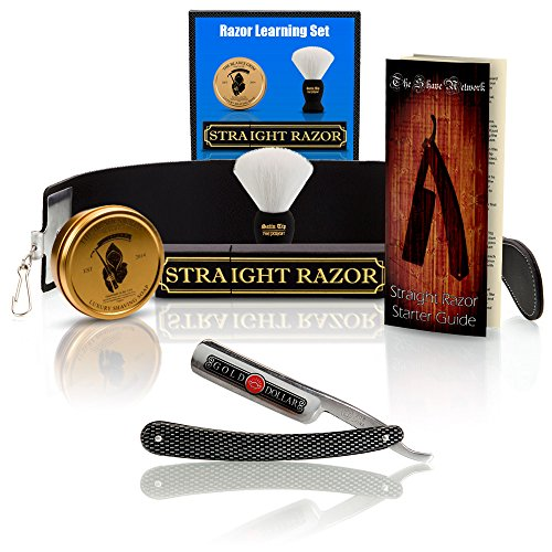 Blunt-Not-Sharp-Gold-Dollar-Straight-Razor-Beginners-Kit-Learning-Shave-Set