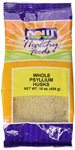 NOW Foods Psyllium Husks Whole, 16 Ounce
