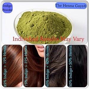 Indigo Powder Hair Dye 2x100 Grams - The Henna Guys®: Everything Else