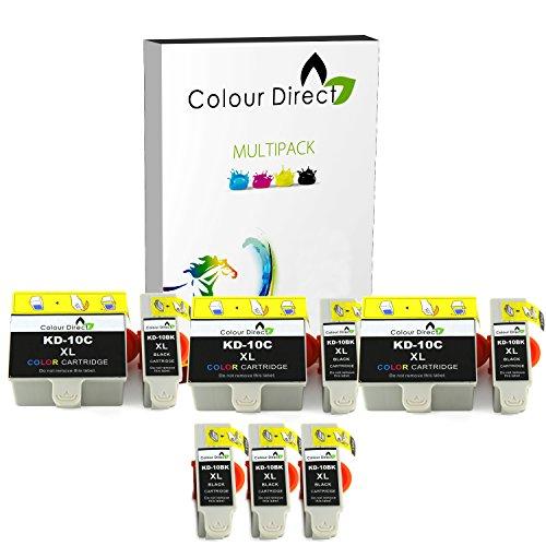 colour-direct-6-black-3-colour-compatible-ink-cartridges-replacement-for-kodak-10b-10c-easyshare-esp