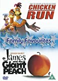 Chicken Run/James And The Giant Peach [DVD]
