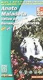 Aneto y maladeta - mapa y guia 1:25000 (Mapa Y Guia Excursionista)