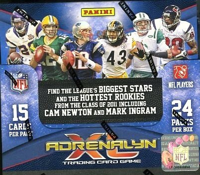 2011 Panini Adrenalyn XL Trading Card Game Sealed Box