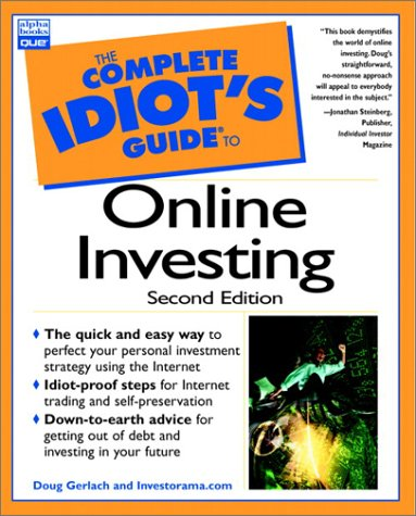 The Complete Idiot's Guide to Online Investing