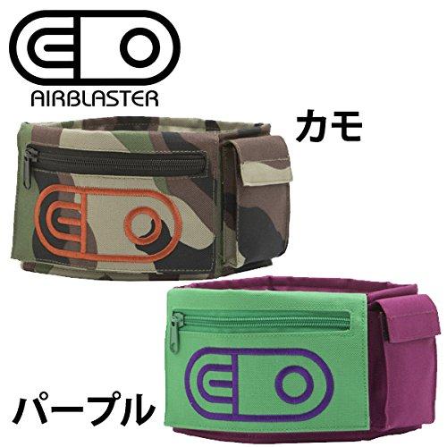 エアブラスター AIRBLASTER エアブラスター スノーボード /LEG BAG レッグバッグ リーシュ パープル