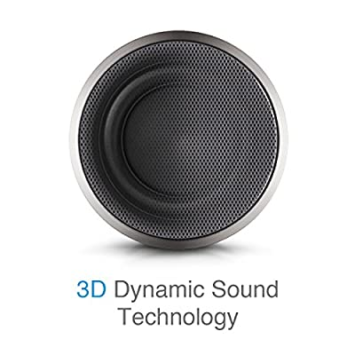 Bluetooth Speakers: 01 Audio Solo Cannon Portable Wireless Speaker, Hands Free Chats, 12 Months Warranty, High-Def Sound Quality with 10 Hours Playtime for Outdoors / Indoor Entertainment