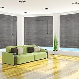 Privacy Grey Wash Bamboo 50\