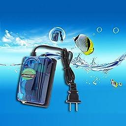 PyLios(TM) Mini Aquario Accessories Electric Oxygen Aquarium Air Pumps for Fish Turtle Tank Super Silent Adjustable 3W 220V Airpump