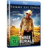 "Three Burials - Die drei Begr�bnisse des Melquiades Estrada [Blu-ray]von ""Tommy Lee Jones"""