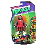 Raphael Throw N Battle Teenage Mutant Ninja Turtles TMNT Action Figure