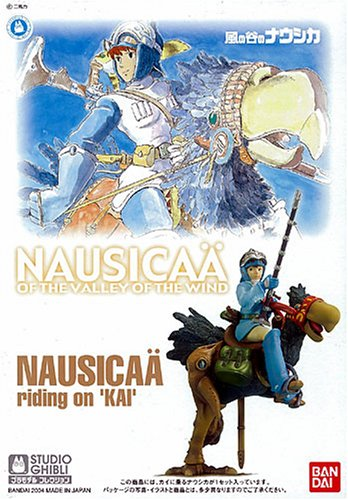 Nausicaä of the Valley of the Wind - Nausicaä riding on Kai Model Kit