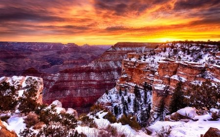 snow-draping-the-grand-canyon-hdr-mouse-pad-mousepad-102-x83-x-012-inches-2017096