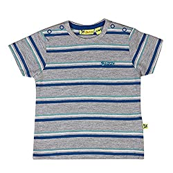 Buzzy Baby-Boys' Cotton T-Shirt (Yellow,3-6M)