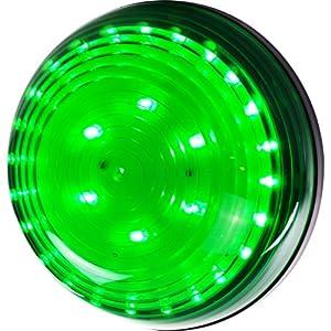 SuperBright 75-FL249G 30 LED Magnetic Emergency Flasher, Green