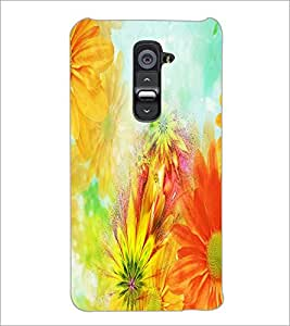 PrintDhaba Painting D-3956 Back Case Cover for LG G2 (Multi-Coloured)