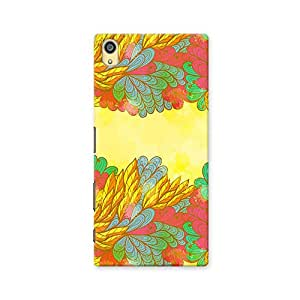 ArtzFolio Nature Elements : Sony Xperia Z5 Matte Polycarbonate ORIGINAL BRANDED Mobile Cell Phone Protective BACK CASE COVER Protector : BEST DESIGNER Hard Shockproof Scratch-Proof Accessories
