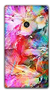 The Racoon Grip Abstract hard plastic printed back case / cover for Nokia Lumia 520