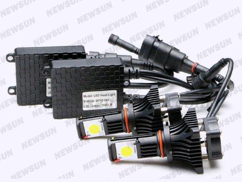 Newsun Cree Led Headlight Kit 9006 Hb4 Low Beam For Dodge Avenger Journey Magnum Viper 01-02 25W High Power 1800Lm
