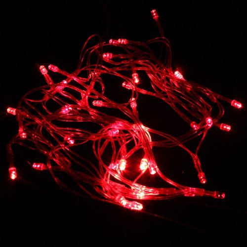 Dgi Mart Party Decoration Supplies Red 40 Led Battery Outdoor String Light 4M Length front-615337