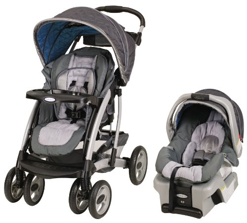 Graco Quattro Tour Reverse Travel System with Snugride30, Pictor