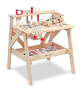 Melissa & Doug Wooden Project Workbench from Melissa & Doug