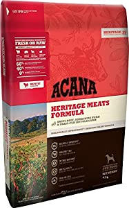 Acana Heritage Meats Dog Food - 4.5 lbs