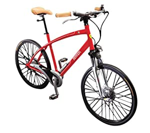 Ferrari CX-70 Comfort Bike (Red, Medium, 26-Inch Wheels)