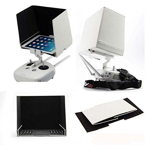 HOBBYTIGER Pare-soleil Sun Capot Visor FPV moniteur pour DJI Phantom 4 3 2 Vision + DJI Inspire 1 Tablet Tablette (10 pouces)