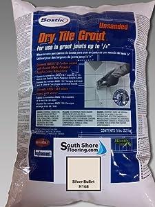 Bostik Dry Tile Grout Unsanded Silver Bullet